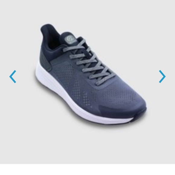 Men's sire performance athletic shoes Navy NWT s7